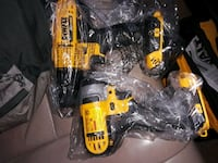 yellow and black DeWalt cordless power drill Alexandria, 22303