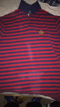 Red and blue polo Ralph Lauren shirt size large Temple Hills, 20748