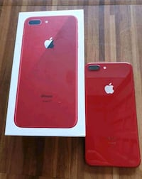 Red iPhone 8 plus with box  Los Angeles, 90025
