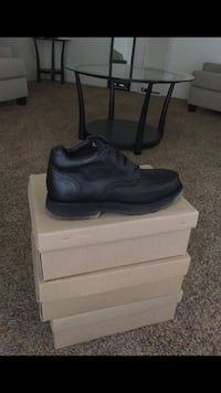 Black Leather Hard Labor Work Boots Bakersfield, 93309