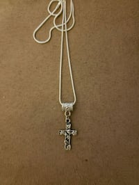 Cross necklace 925 chain