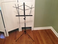 Wire Music Stand - Black Franklin, 37064