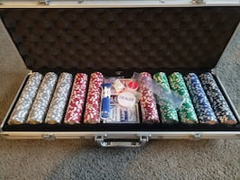Official Poker Set (Brand New in Packaging)