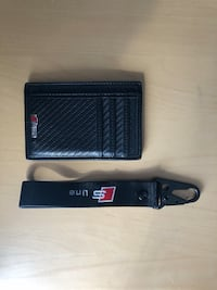 Audi S Line key chain and card wallet Toronto, M6H 3M3