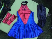 """Halloween costume """"Spider woman"""" pour femme taille M (6/8) Laval, H7R 4Z9"""