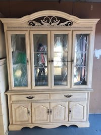 Curio China cabinet French country farmhouse style