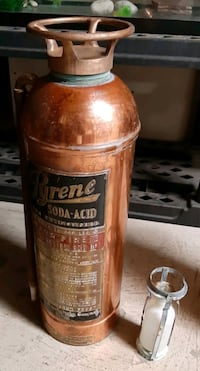 antique brass and copper fire extinguishers  Mississauga, L5N 8C8