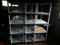LOTS of plastic storage shelving for sale  Toronto, M8W 4J6