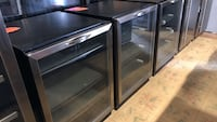 Brand new stainless steel built in wine and beverage cooler with warranty