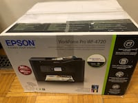 Epson WorkForce Pro WF-4720 Wireless All-in-One Color Inkjet Printer, Copier, Scanner with Wi-Fi Direct 多伦多, M6G 3T6