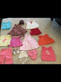 Girls size 3 months all for $15 Milton, L9T 2R1