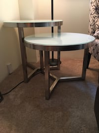 5 Tempered glass End table from Ashley furniture!  Coquitlam, V3B