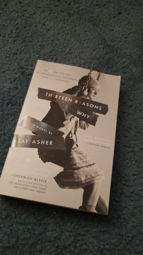 Used 13 Reasons Why Book For Sale In Converse Letgo