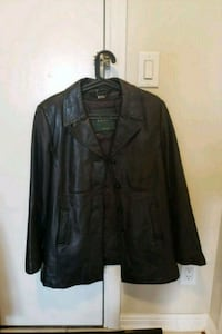 Women's leather jacket made by Danier (lg) Toronto, M1L 0G9
