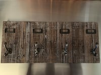 Reclaimed wood coat hook rail Virginia Beach, 23464