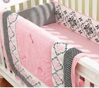 Lambs and Ivy Duchess Crib Bedding Set Chantilly, 20151