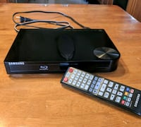 SAMSUNG BLU-RAY DISC PLAYER Model BDHM57C Silver Spring, 20906
