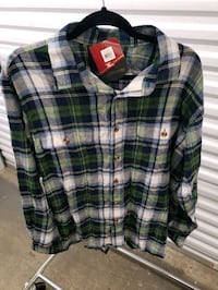 Lodge Outfitters Flannel Long Sleeve Shirt Waltham, 02451