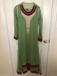 Indian Suit with Cami, Pants & Dupatta  Markham, L3R