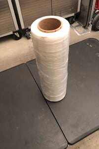 Roll of packing plastic wrap