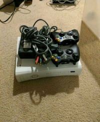 Xbox 360 with cords and controllers Perkasie, 18944