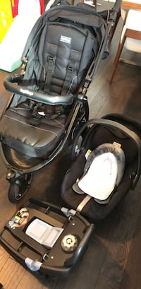 Brand new stroller, one year old infant car seat