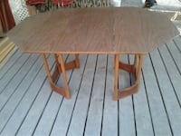 Vntge Dining Solid Wood Table Good for 4/6 chairs Donna, 78537