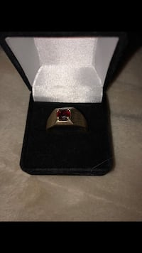 silver and diamond ring with box Chilliwack