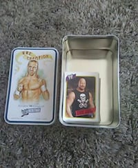 WWE Champion trading card case Waupun, 53963