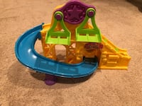 Little people circus track
