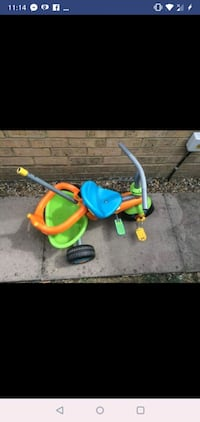toddler's green and blue push trike Didcot, OX11