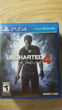 Uncharted 4 PS4 game case Broomfield, 80020