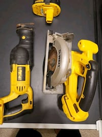 DeWalt 18v tool set - circular saw and sawzall - best offer