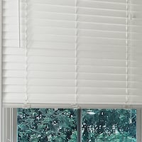 """JCPenney Cut-to-Width 2"""" Faux-Wood Horizontal Blinds Frederick"""
