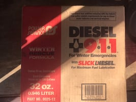 Full case diesel 911 fuel additive
