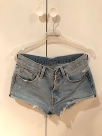 Levis 501 denim shorts Jessheim, 2069