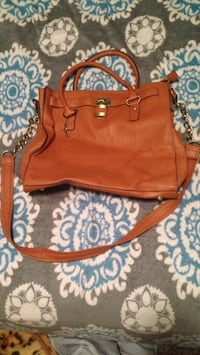 women's brown leather 2-way bag Medicine Hat, T1A 7Y2
