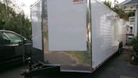 20 24 28 32 ENCLOSED VNOSE TRAILERS BRAND NEW FREE DELIVERY