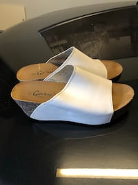 Wedge comfortable leather shoes 8 Saint-Eustache, J7P