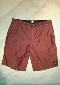 DC Shoes Burgundy Maroon Shorts (size 34) New Westminster, V3M 0B3