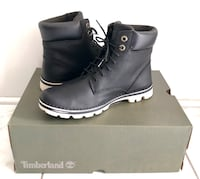 Timberland Women's Brookton 6 Inch Lace Up Boots Size 8 Black Gently Used Markham, L6B 0P2