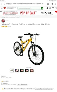 29 inch mountain bike