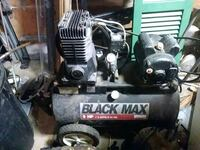 Black Max 3 horsepower Sanborn air compressor Sarasota, 34239