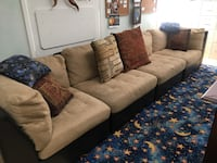 Used brown fabric set (the price is negotiable) Virginia Beach, 23451
