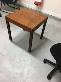 Wood rolling side table Little River, 29566