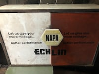 NAPA. Echlin parts cabinet, with a lot of parts Anchorage, 99503