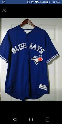 Blue Jays button up large Kelowna, V1Y 6P1