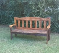 Handcrafted Rustic Bench Wake Village, 75501