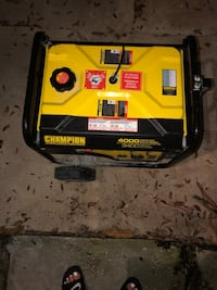yellow and black Champion portable generator Tampa, 33607