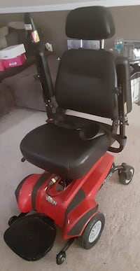 Merits P319 Visin CF Power Wheelchair Red Waldorf